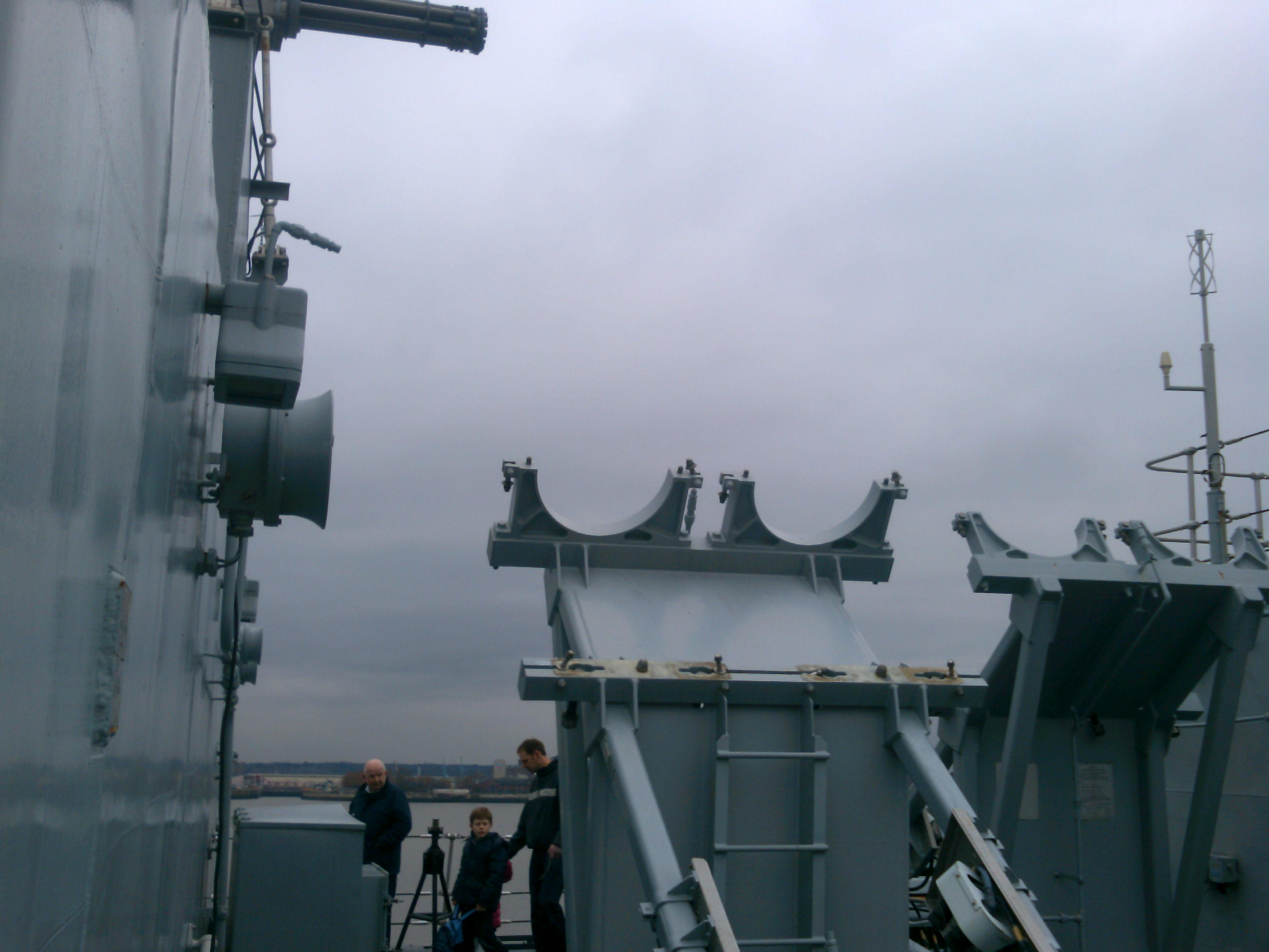 HMS Campbeltown, Pier Head Liverpool 5/3/2011