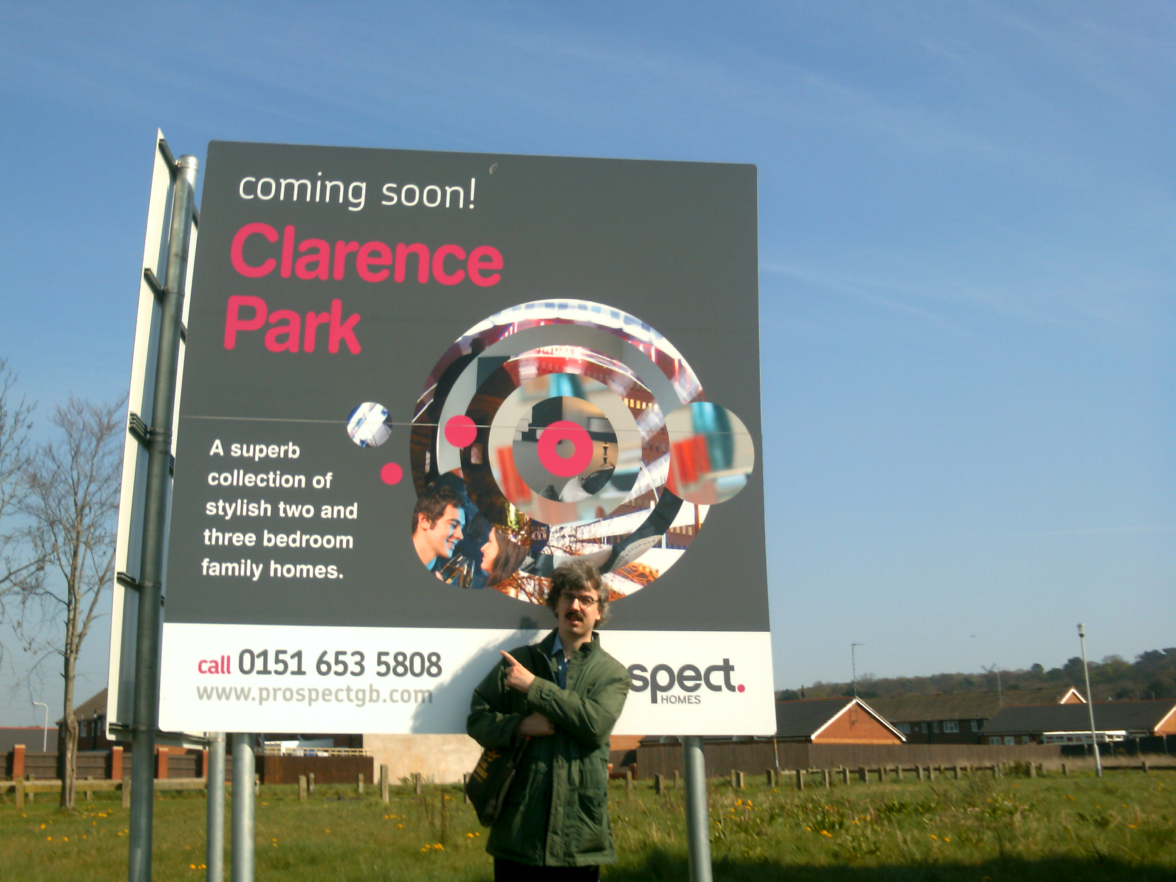 Clarence Park - site for new Housing in Beechwood