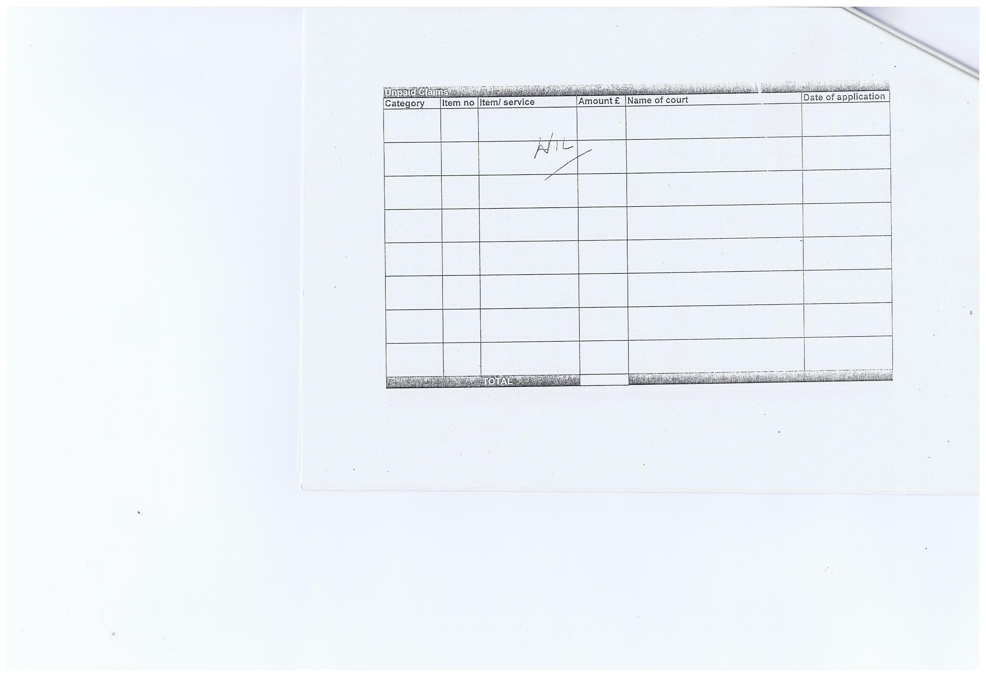 Election Expenses Return Candidate Simon Holbrook Agent Cllr Margaret Ann Bridson Wirral Council Prenton ward May 2011