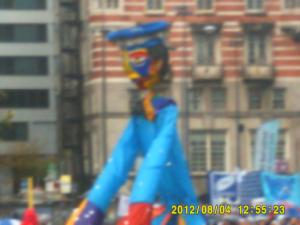 Thumbnail Liverpool Pride 4th August 2012 Photo 13 Blue Puppet