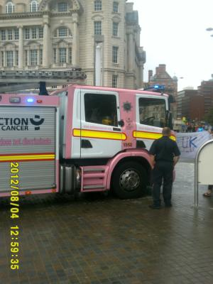 Thumbnail Liverpool Pride 4th August 2012 Photo 16 Pink Fire Engine
