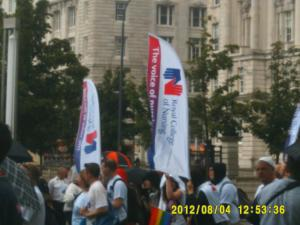 Thumbnail Liverpool Pride 4th August 2012 Photo 3 Royal College of Nursing