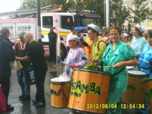 Thumbnail Liverpool Pride 4th August 2012 Photo 6 Karamba band closeup