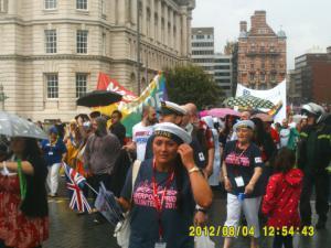 Thumbnail Liverpool Pride 4th August 2012 Photo 8 Karamba band closeup