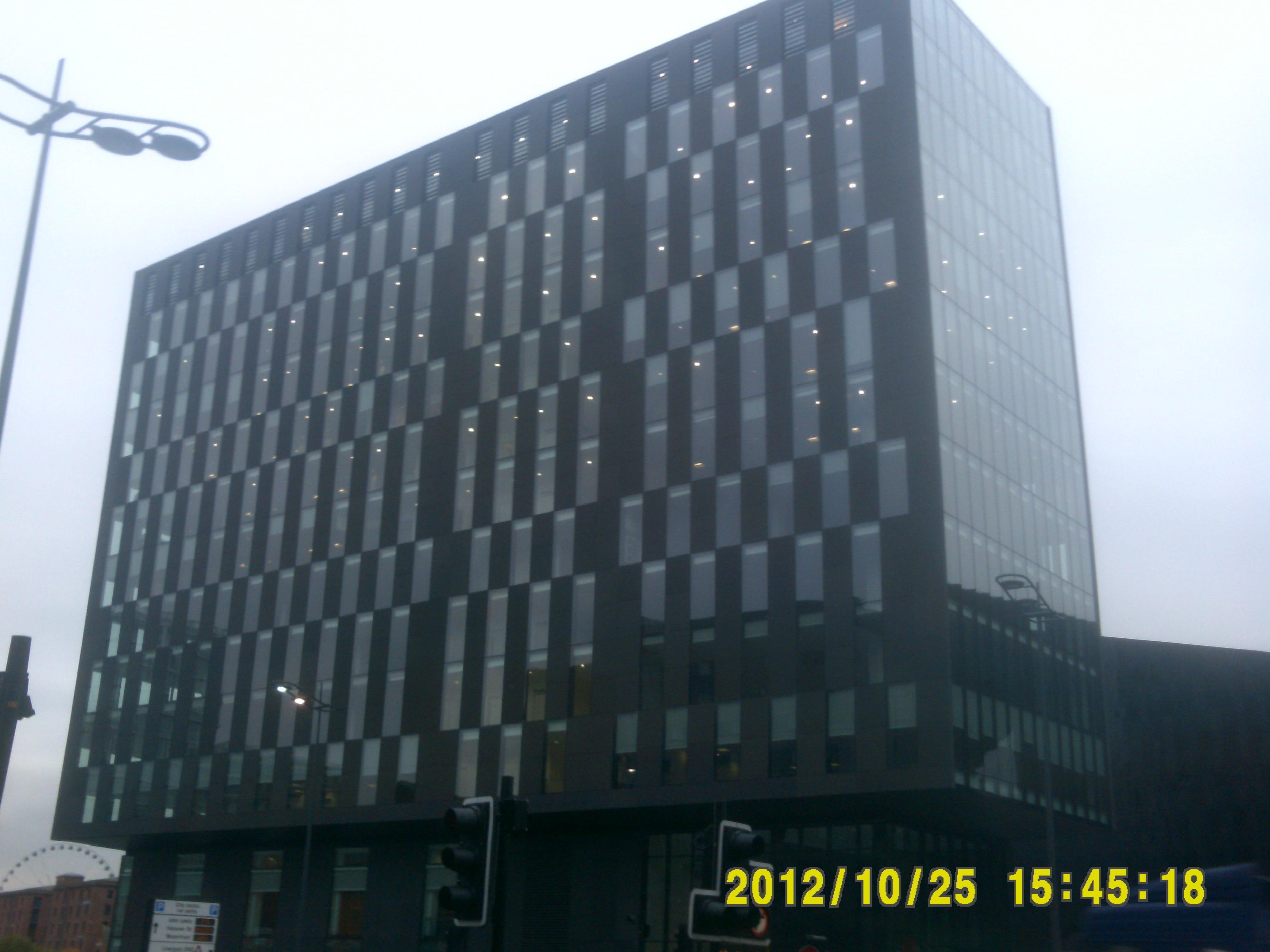 Merseytravel (Merseyside Integrated Transport Authority) Headquarters, No. 1 Mann Island, Liverpool