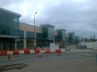 Bidston Moss Retail Park Shops Construction