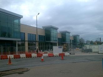 Bidston Moss Retail Park Shops Construction