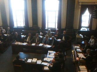 Council meeting Extraordinary 30th April 2013 Revisions to the constitution Cllr John Hale