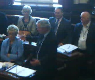 Extraordinary Council 30th April 2013 Cllr Jeff Green revisions to the Constitution Wirral Council