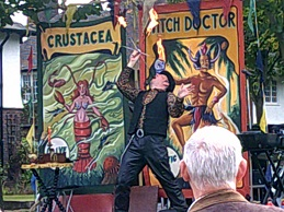 Port Sunlight Festival Fire Eater photo 1 (small)