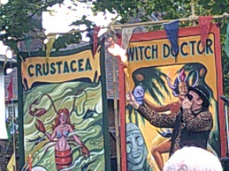 Port Sunlight Festival Fire Eater photo 2 (small)