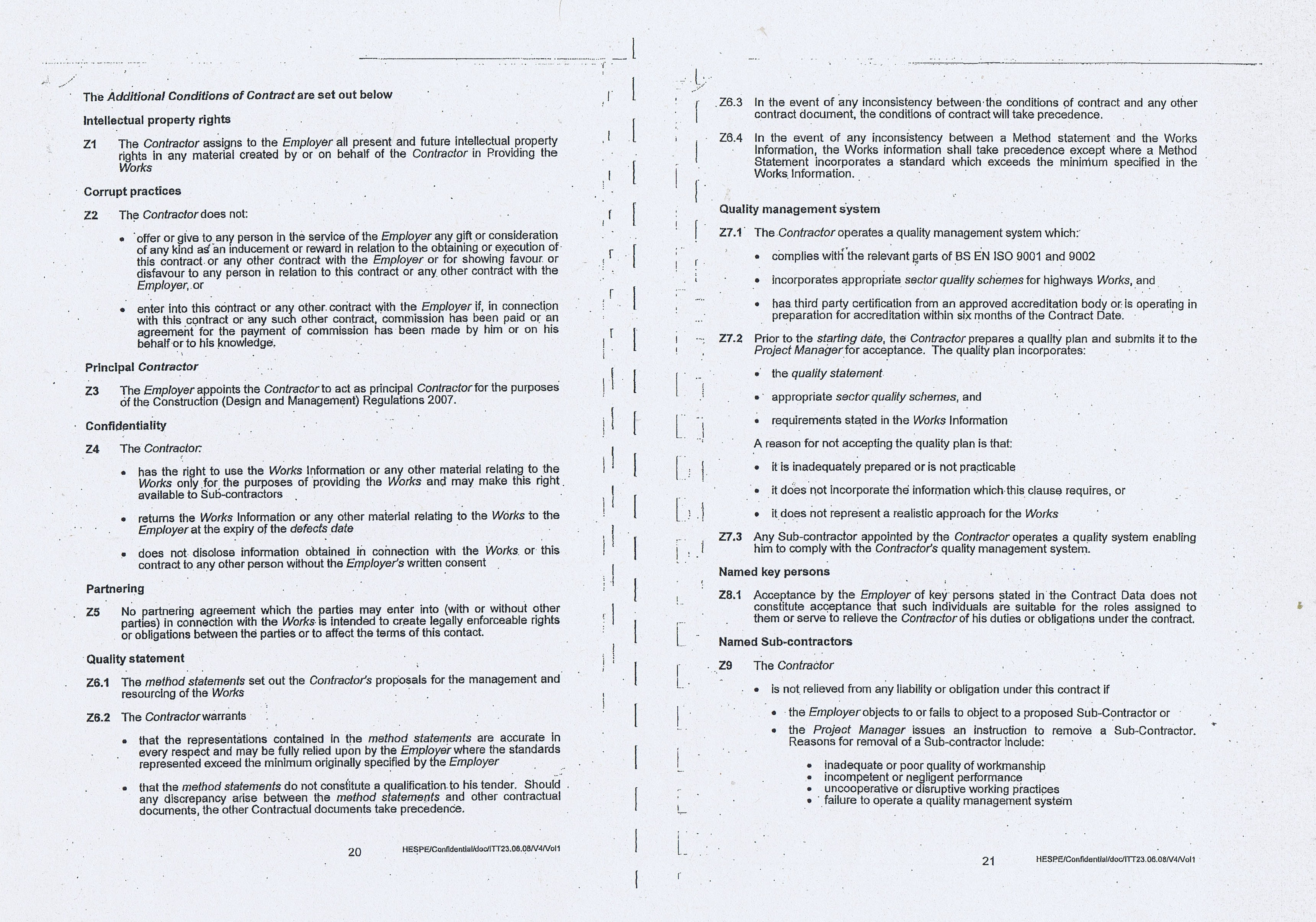 Wirral Council Colas Highways and Engineering Services Contract Page 10