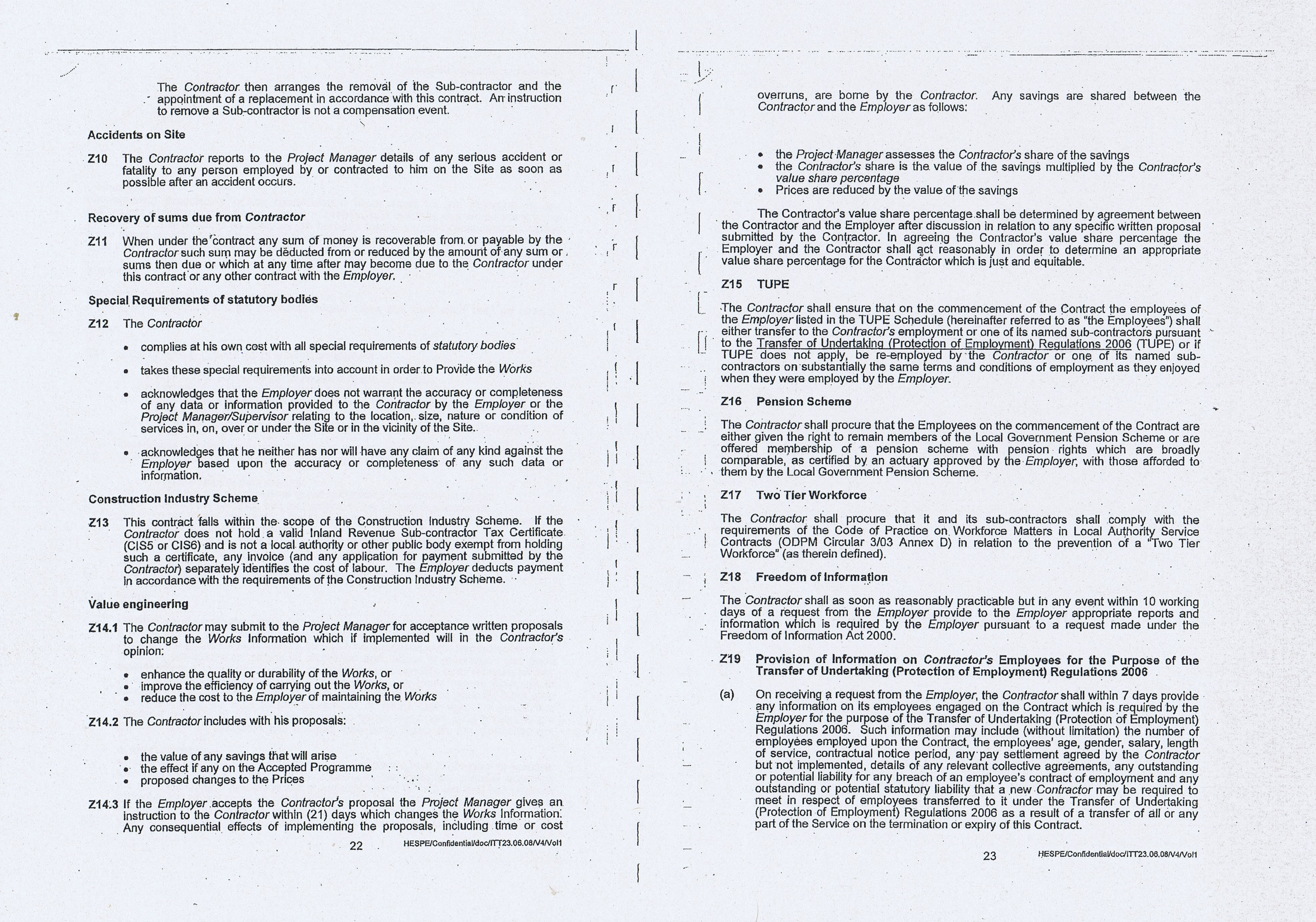 Wirral Council Colas Highways and Engineering Services Contract Page 11