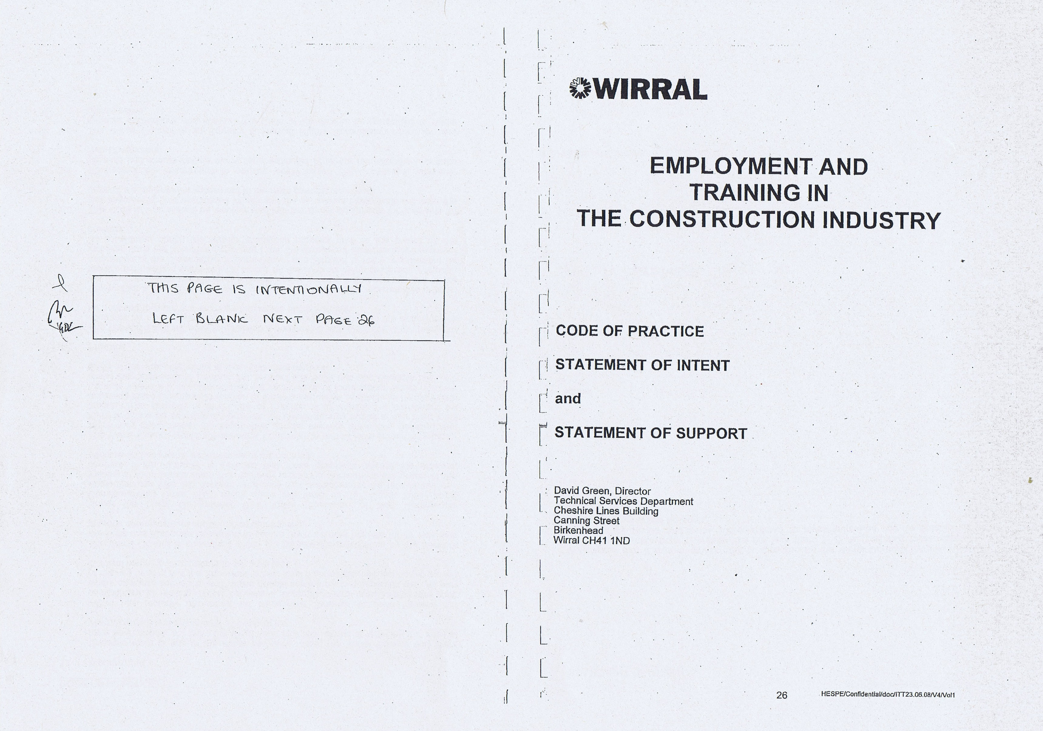 Wirral Council Colas Highways and Engineering Services Contract Page 13