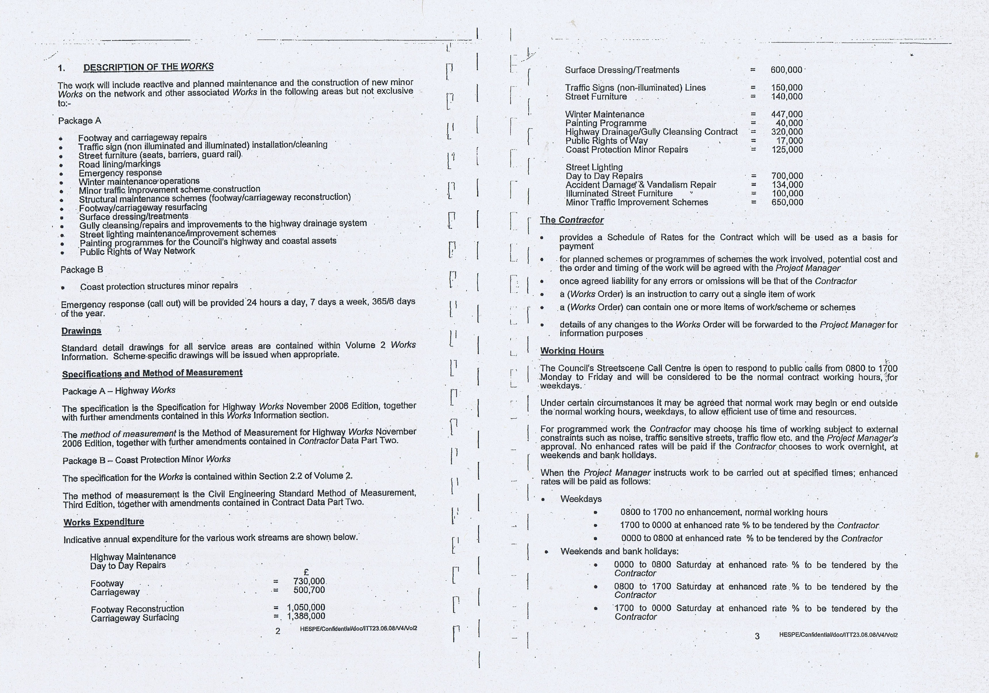 Wirral Council Colas Highways and Engineering Services Contract Page 19