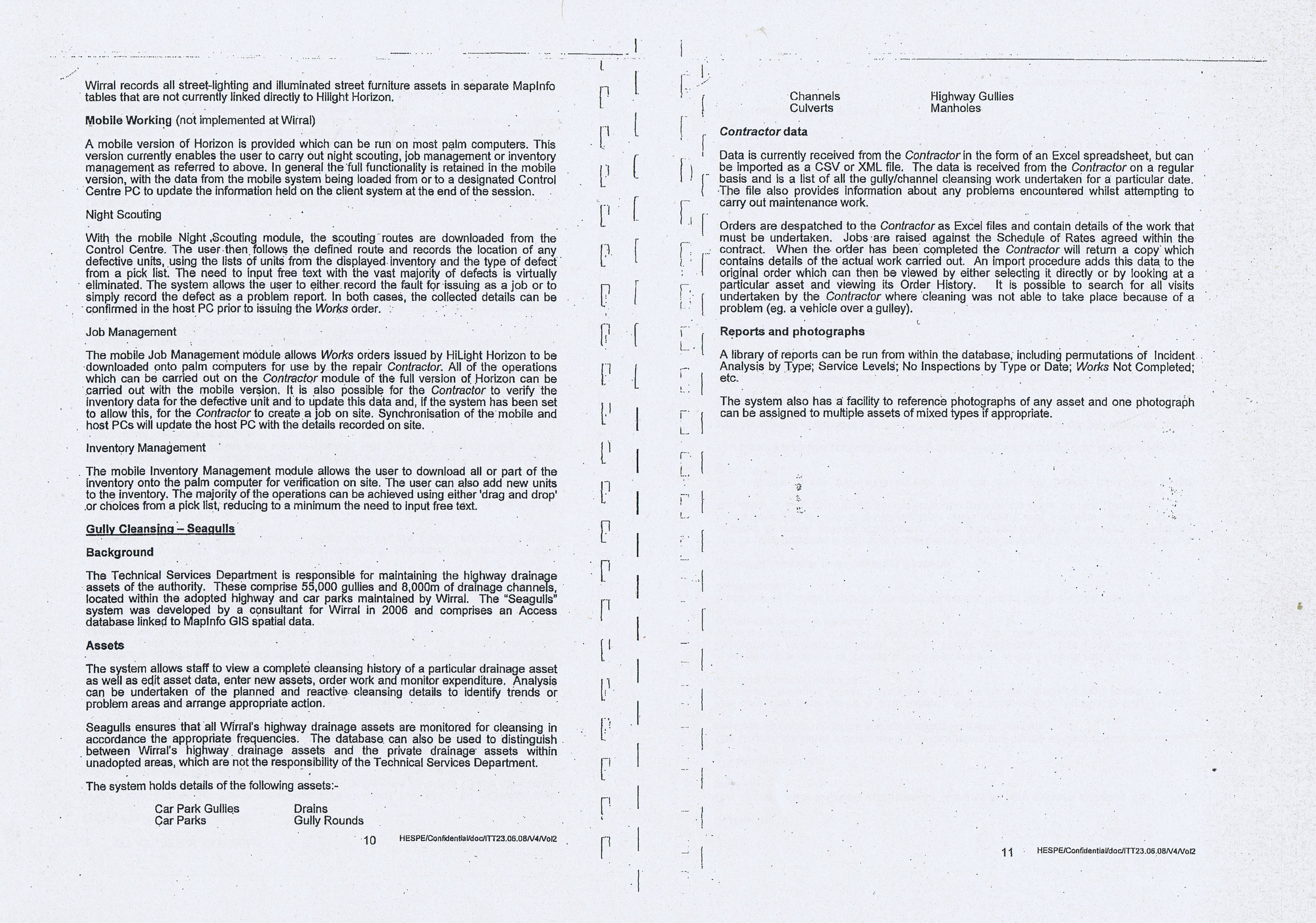 Wirral Council Colas Highways Maintenance Contract Page 23