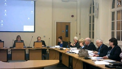 Cllr Harry Smith tells Wirral Council's Pensions Committee that £1 million is a lot of money to write off
