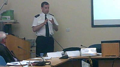 Sergeant Barrigan (Licensing Sergeant, Merseyside Police) explains to Wirral Council's Licensing Act 2003 Committee why the police want a special cumulative impact policy due to high levels of alcohol related crime in downtown Birkenhead