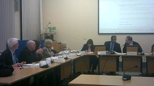Councillor Phil Davies asked Surjit Tour for advice on what to do about the draft minutes on the call ins about consulting on closing Lyndale School and special educational needs funding at a Wirral Council Cabinet meeting of the 13th March 2014