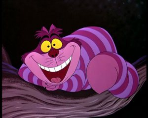 The Cheshire Cat from Disney's Alice in Wonderland (the 1951 version)