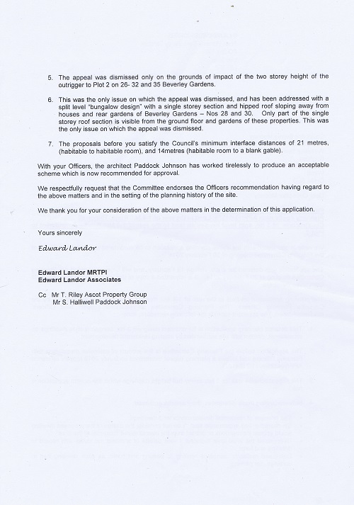 Letter from Edward Landor Associates to Councillor Bernie Mooney page 2
