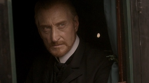 Charles Dance as Lord Vetinari in Terry Pratchett's Going Postal