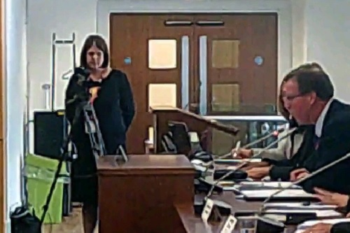Knowsley Council filming the Liverpool City Region Combined Authority 19th September 2014