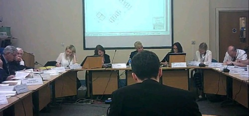 Cllr Matthew Patrick explains to Wirral Council's Planning Committee why they should reject planning application APP 14 00951 in Kenilworth Gardens Upton 20th November 2014