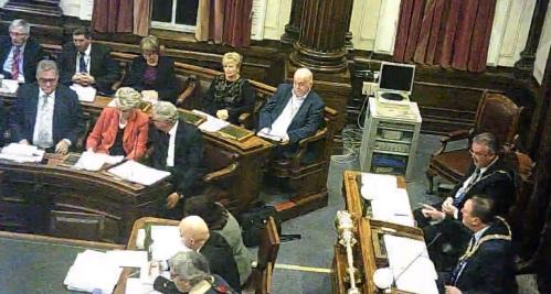 Council 15th December 2014 Agenda item 4 Public Question Time John Brace asks a question of Cllr Tony Smith on Lyndale School