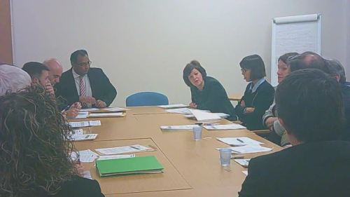 Employment and Appointments Panel (Head of Specialist Services) Wirral Council 10th December 2014 Chris Hyams explains the purpose of the meeting