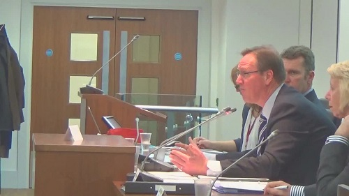 "Councillor Phil Davies asks for ""more sensible decisions"" about Mersey Tunnel tolls at a meeting of the Liverpool City Region Combined Authority 13th February 2015"
