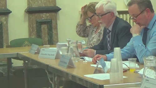 Cllr Tony Smith tells Cabinet what the outcome of the consultation on Pensby High School was 12th March 2015