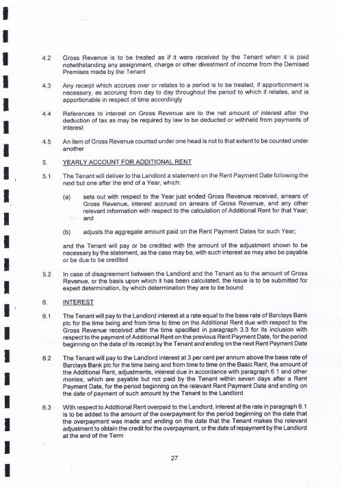 New Brighton Marine Point lease Wirral Council Neptune Wirral Ltd Additional Rent Page 3