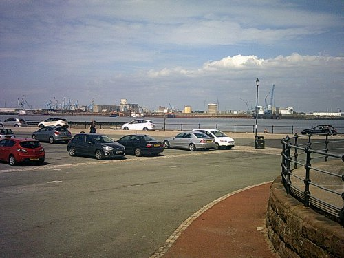 Fort Perch Rock car park 29th June 2015 Photo 2 of 3