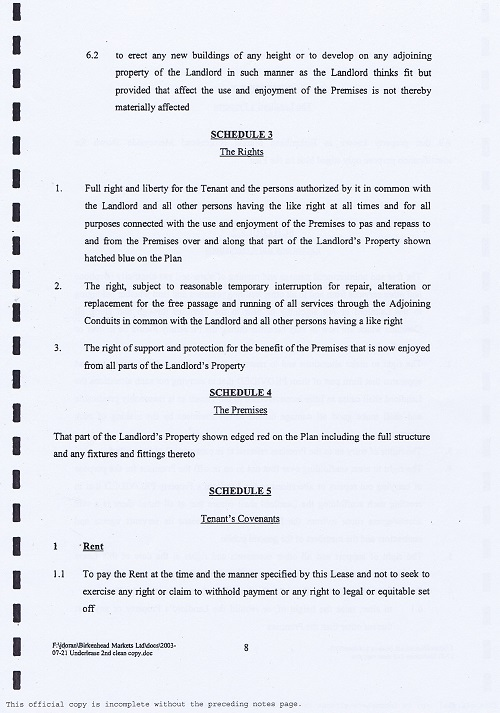 Birkenhead Market lease Birkenhead Market Limited Wirral Borough Council page 8 of 17 thumbnail
