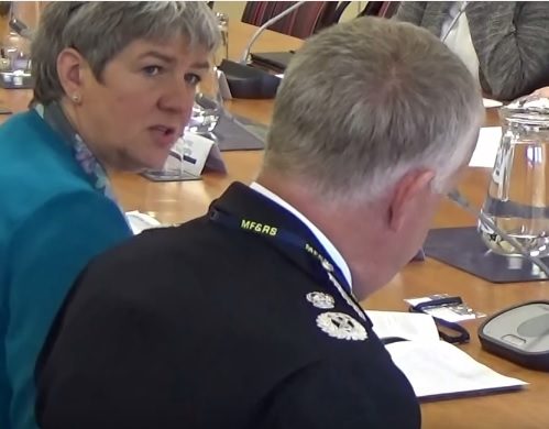 Merseyside Fire and Rescue Authority Police and Fire Collaboration Committee 1st September 2015 Left Jane Kennedy (Police and Crime Commissioner for Merseyside) Right Sir John Murphy (Chief Constable, Merseyside Police)